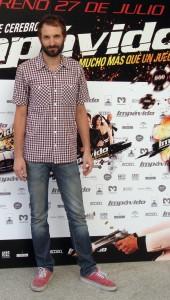 Julián Villagrán en la presentación de Impávido (2)