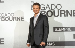 Jeremy Renner en la presentación de El legado de Bourne