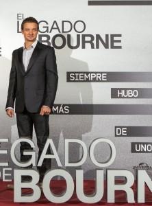 Jeremy Renner en la presentación de El legado de Bourne (2)