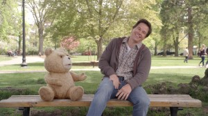 El osito Ted y Mark Wahlberg en Ted