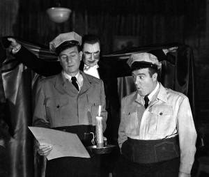 Abbott, Costello, y Drácula en Abbot y Costello contra los fantasmas