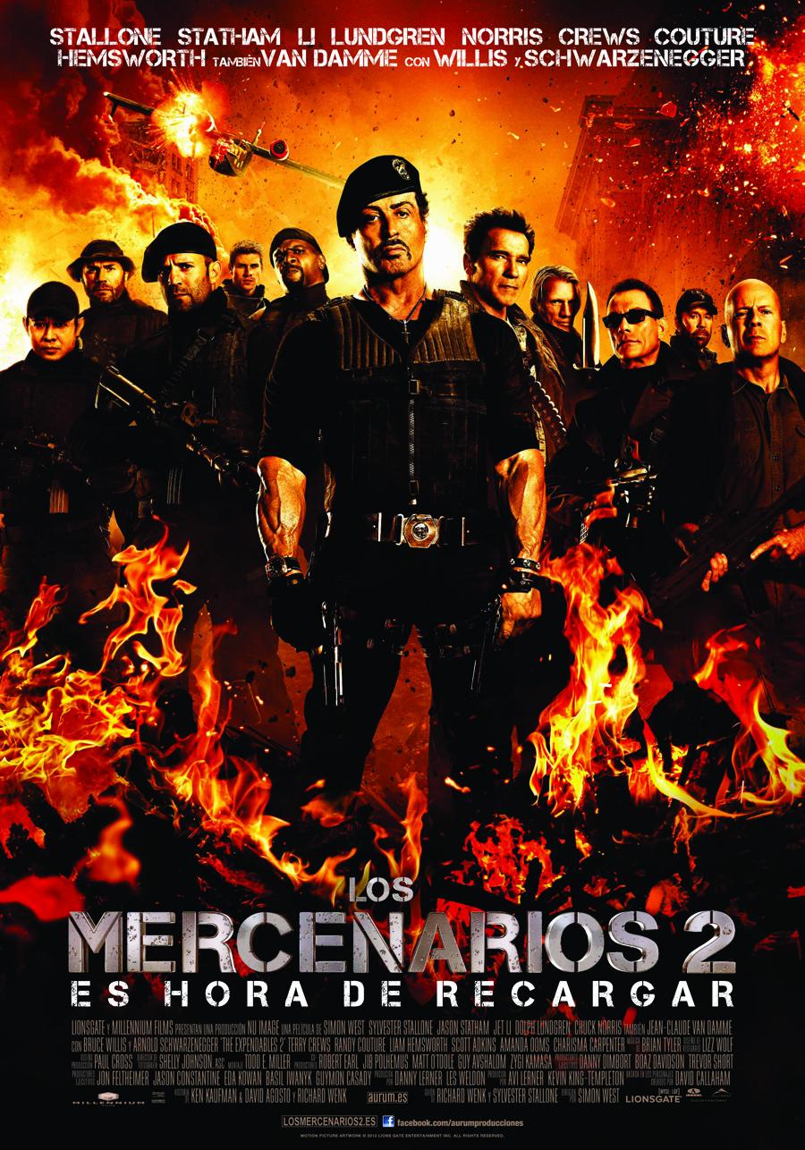 Los mercenarios 2: Vieja escuela