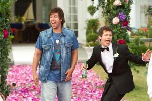 Adam Sandler y Andy Samberg en Desmadre de padre