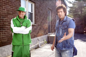 Vanilla Ice y Adam Sandler en Desmadre de padre