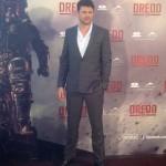 Karl Urban en la presentación de Dredd (2)