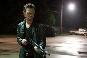 Brad Pitt en Mátalos suavemente