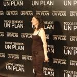 Ana Piterbarg en la presentación de Todos tenemos un plan