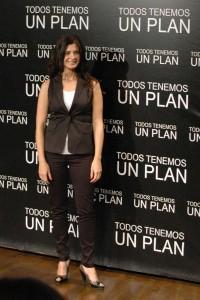 Soledad Villamil en la presentación de Todos tenemos un plan