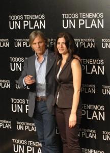 Viggo Mortensen y Soledad Villamil en la presentación de Todos tenemos un plan (2)