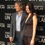 Viggo Mortensen y Soledad Villamil en la presentación de Todos tenemos un plan (3)