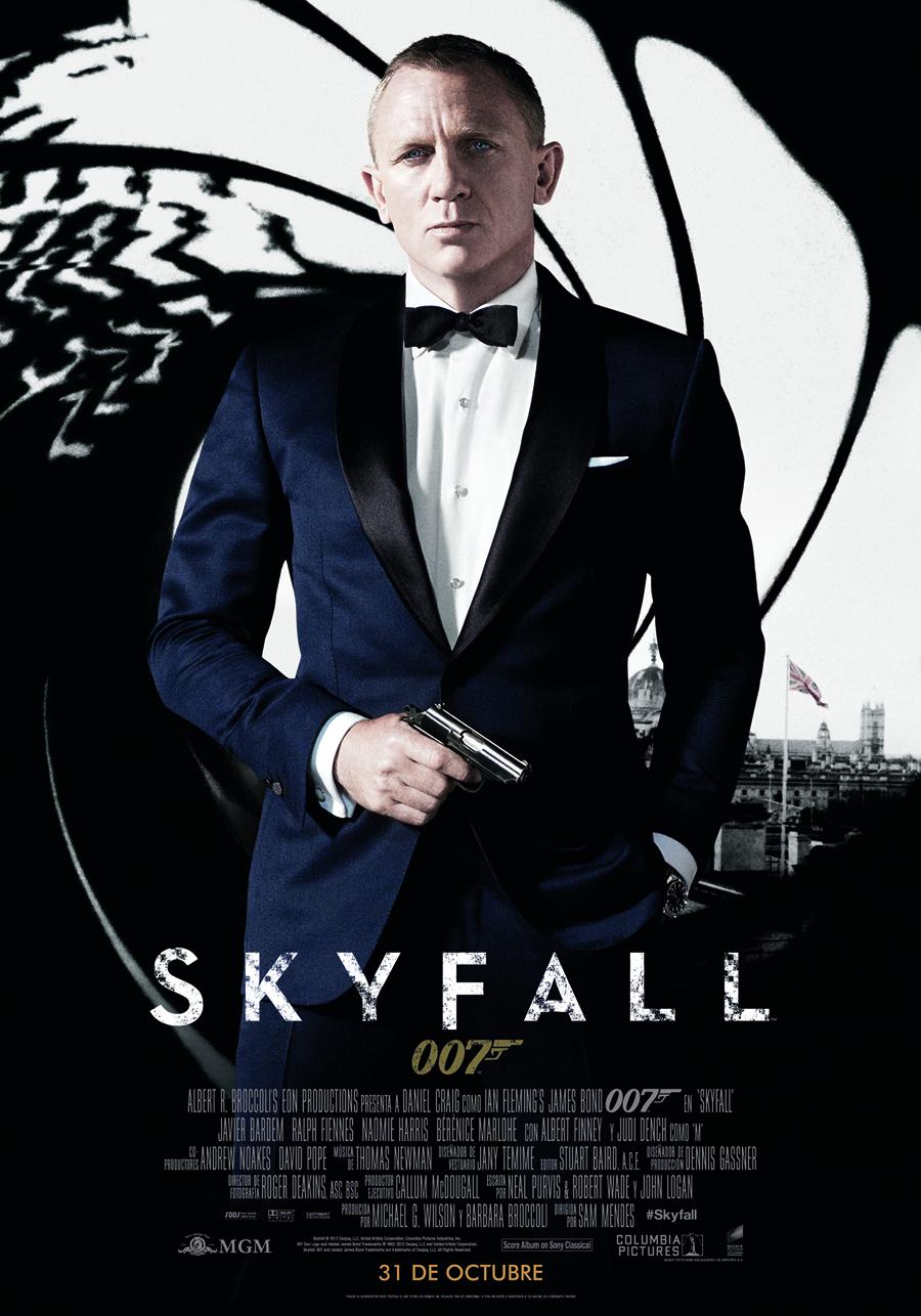Skyfall: Bond vuelve, con traje de superhéroe