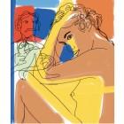 El artista y la modelo - Poster