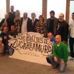 El equipo artístico de Las brujas de Zugarramurdi en la presentación del inicio de rodaje