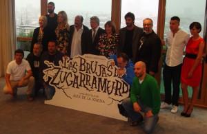 El equipo artístico de Las brujas de Zugarramurdi en la presentación del inicio de rodaje (2)