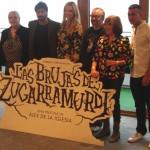 Terele Pavez, Hugo Silva, Carolina Bang, Alex de la Iglesia, Camen Maura, y Mario Casas en la presentación del inicio de rodaje de Las brujas de Zugarramurdi (2)