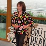 Carmen Maura en la presentación del inicio de rodaje de Las brujas de Zugarramurdi