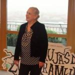 Terele Pavez en la presentación del inicio de rodaje de Las brujas de Zugarramurdi