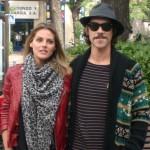 Amaia Salamanca y Óscar Jaenada en la presentación de ¡Atraco!