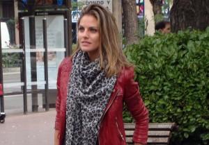 Amaia Salamanca en la presentación de ¡Atraco!