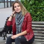 Amaia Salamanca en la presentación de ¡Atraco! (3)