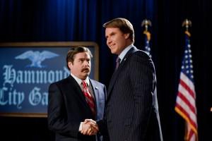Zach Galifianakis y Will Ferrell en En campaña todo vale