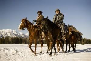 Jamie Foxx y Christoph Waltz en Django desencadenado