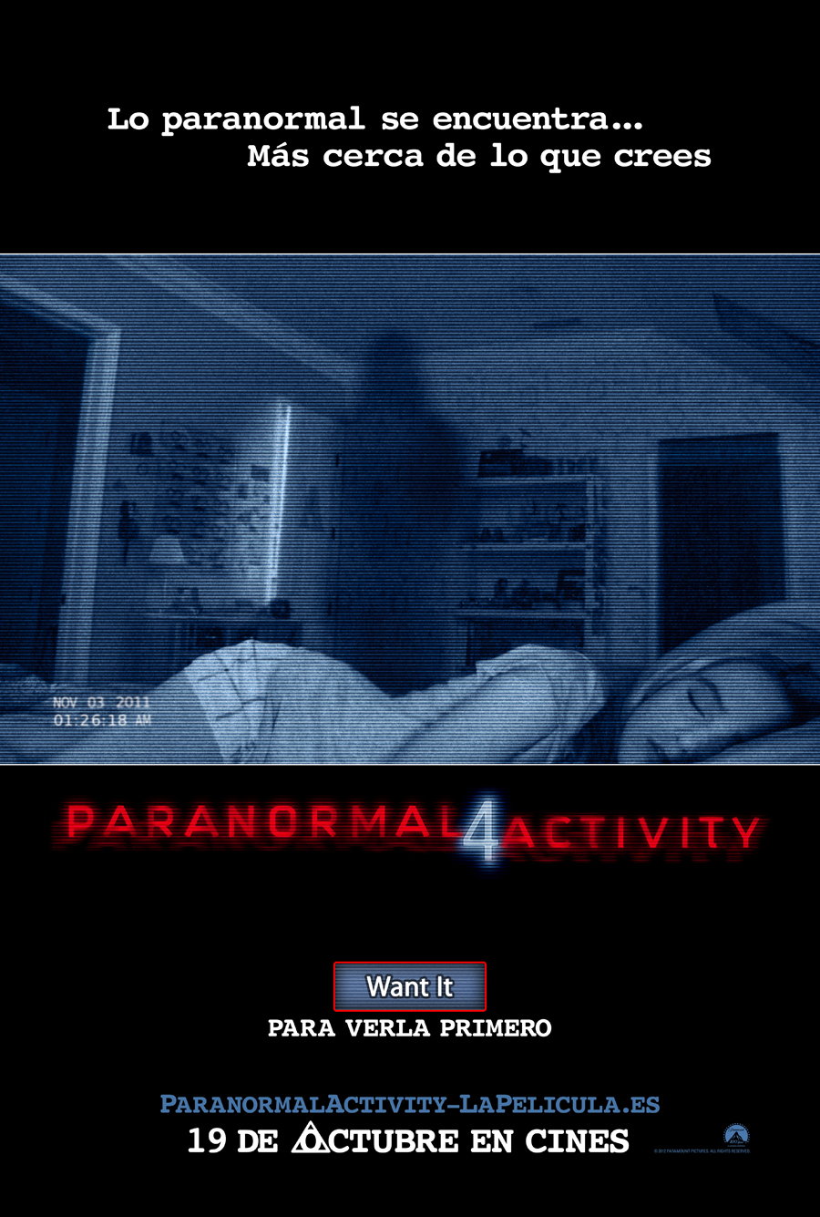 Paranormal Activity 4: Trailer final