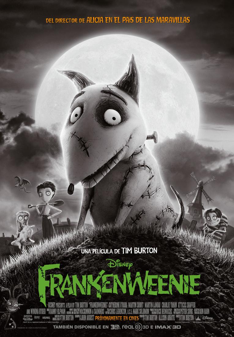 Frankenweenie: Tim Burton por Tim Burton