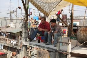 Mel Gibson y Kevin Hernandez en Vacaciones en el infierno