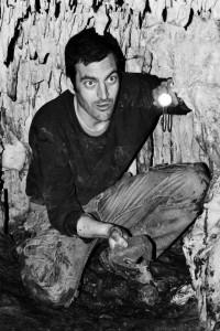 Alfredo Montero en el rodaje de La cueva (2)