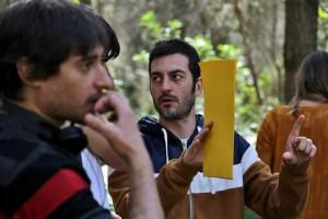 Alfredo Montero en el rodaje de La cueva (3)