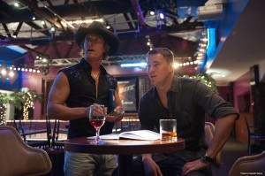 Matthew McConaughey y Channing Tatum en Magic Mike