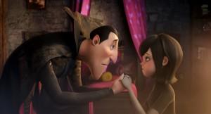 Drácula y Mavis en Hotel Transilvania