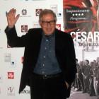 Paolo Taviani en la presentación de César debe morir