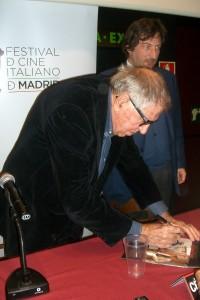 Paolo Taviani en la presentación de César debe morir (2)