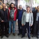 El equipo artístico de O Apóstolo (3)
