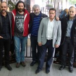 El equipo artístico de O Apóstolo (4)