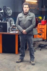 Daniel Calparsoro en el rodaje de Combustión