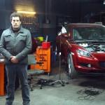 Daniel Calparsoro en el rodaje de Combustión (2)