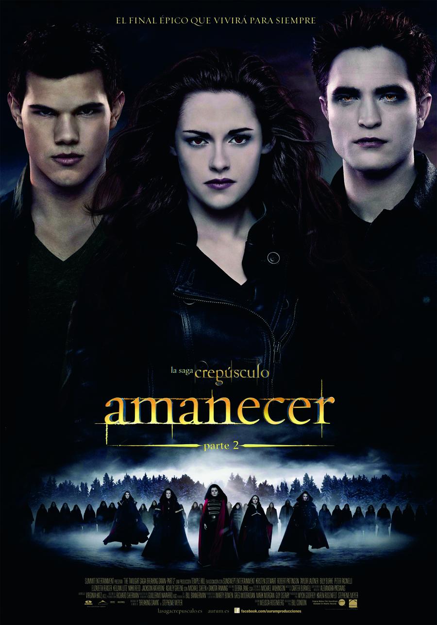 Amanecer Parte 2: El adiós de los vampiros alérgicos a la sangre