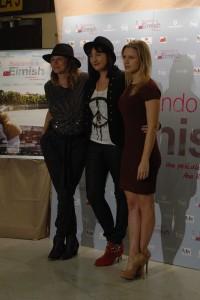 Emma Suárez, Ana Rodríguez Rosell, y Manuela Vellés en la presentación de Buscando a Eimish