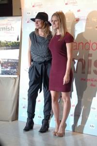 Emma Suárez y Manuela Vellés en la presentación de Buscando a Eimish