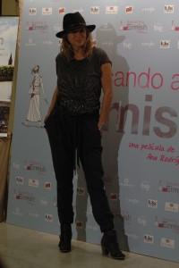 Emma Suárez en la presentación de Buscando a Eimish