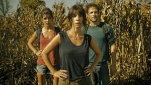 Clara Lago, Maribel Verdú, y Daniel Grao en Fin