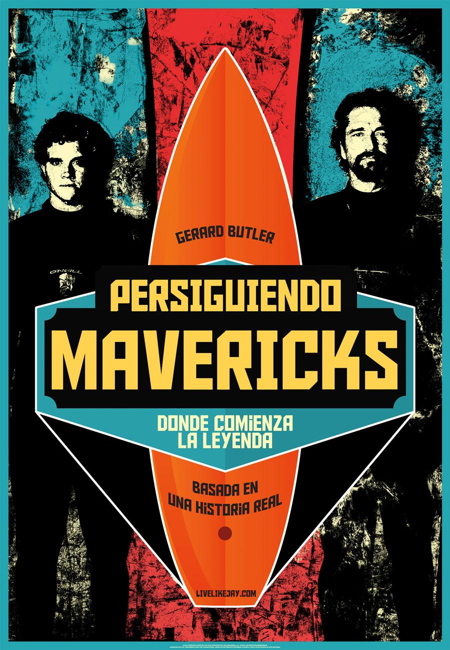 Persiguiendo Mavericks: Al filo de lo imposible