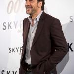 Javier Bardem en la presentación de Skyfall