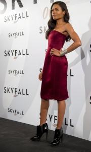 Naomie Harris en la presentación de Skyfall
