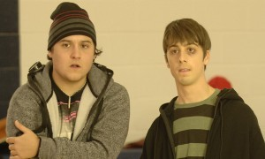 Sean Marquette y Matt Bush en High School