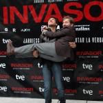 Alberto Ammann y Antonio de la Torre en la presentación de Invasor (2)