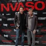 Alberto Ammann y Antonio de la Torre en la presentación de Invasor (3)